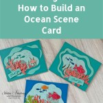 Seascape Scene Greeting Card: How to Build an Ocean Scene Card