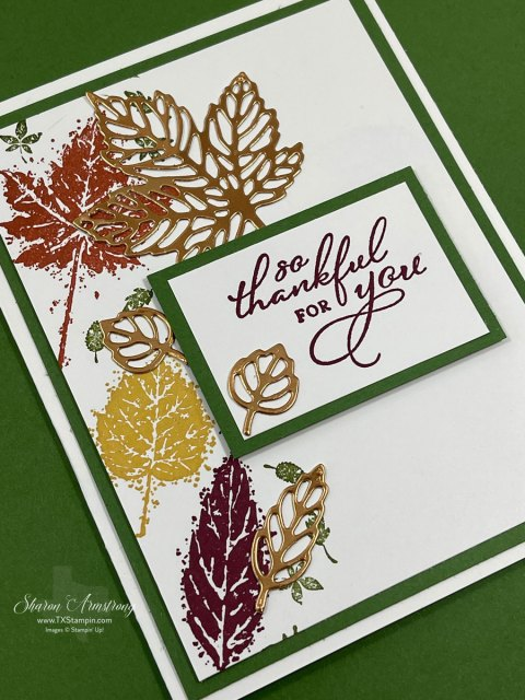 this-fall-card-has-leaves-stamped-in-yellow-orange-and-purple