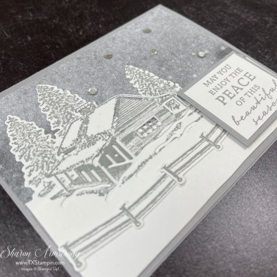 Snow Scene Christmas Cards To Make That Are Blissfully Calm & Beautiful