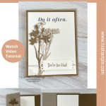 Make a Flap Fold Card with 2 Flaps