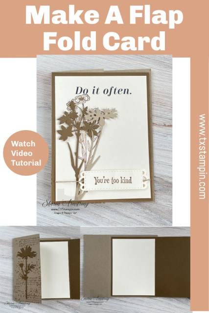 Save this flap fold card to your Pinterest board.
