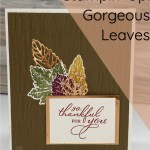 3 Card Designs With Gorgeous Leaves Stamp Set
