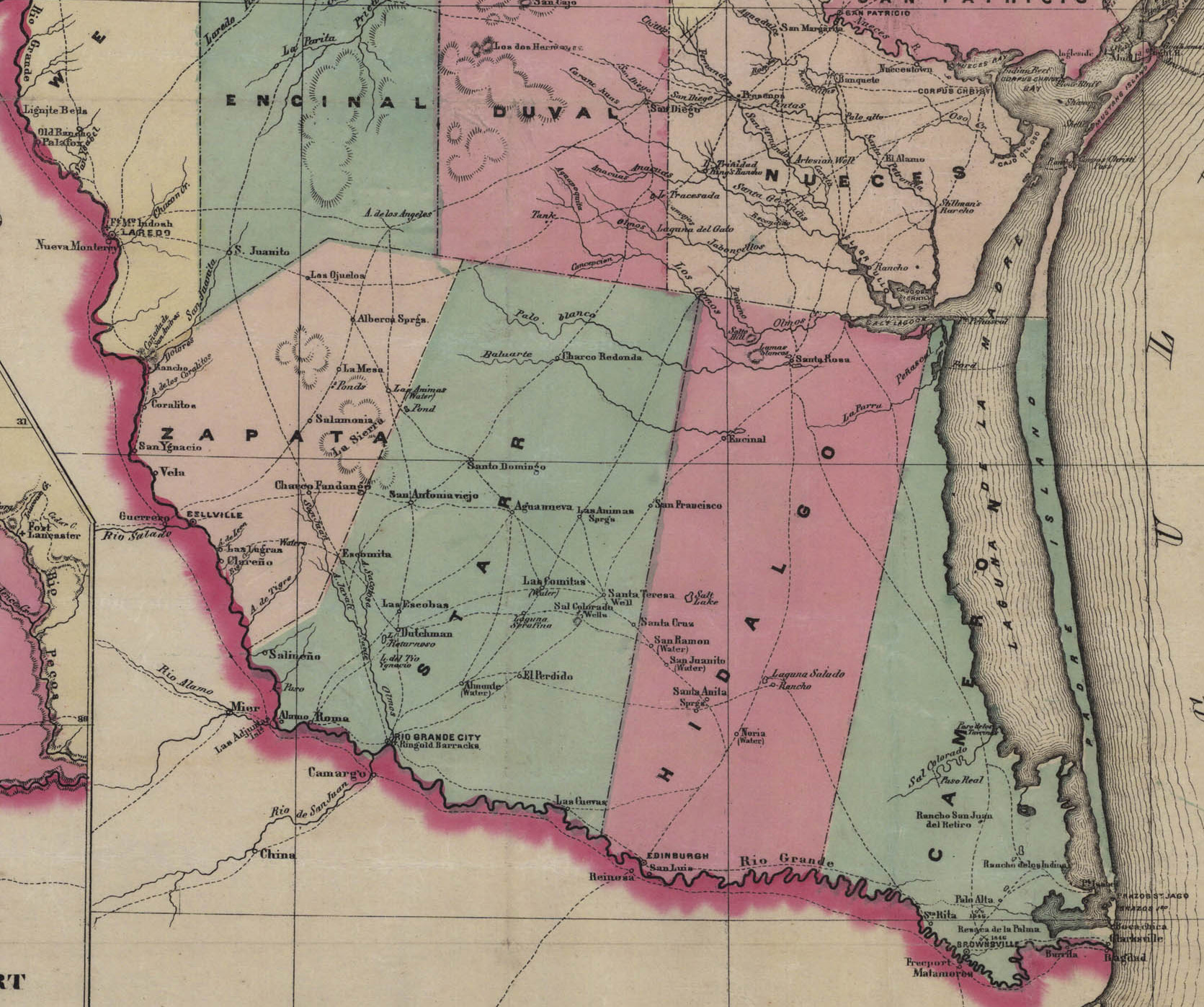 Starr County Maps