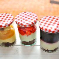 Kaffee Pause in Hannover: Gern mit Kuchen im Glas