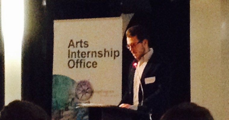 .txtLAB Intern Fedor Karmanov speaks at ARIA Event