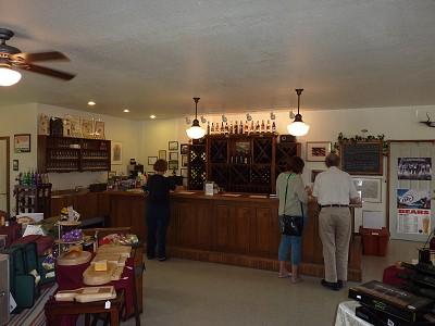 IL winery - inside