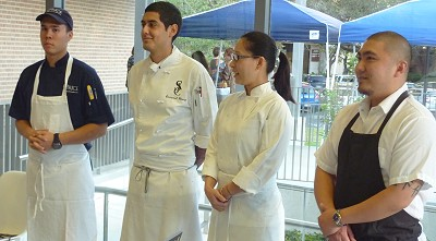Chefs Under Fire - competitors