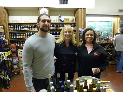 Martin and Angela Santamaria with Gloria