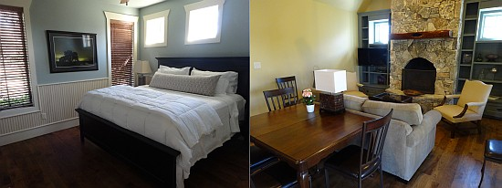 Fall Creek Winery guesthouse