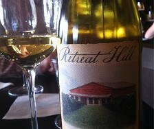 GenuWine tasting with Retreat Hill wines
