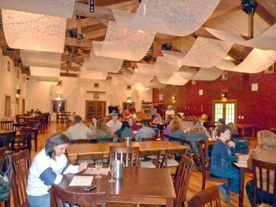 Woodrose - inside event center