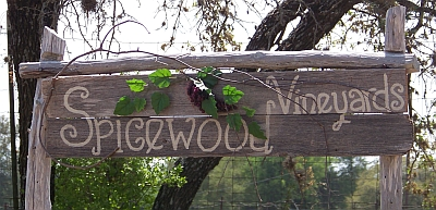 Spicewood - sign