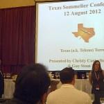 Texas Wine at 2012 TEXSOM