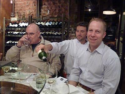 Jerry Levy, Chef Pablo Ranea, Ian Eastveld