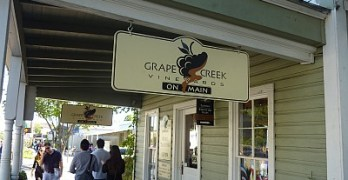 Grape Creek - Main Street outside