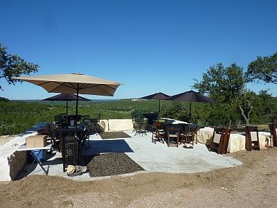 Hawk's Shadow - patio