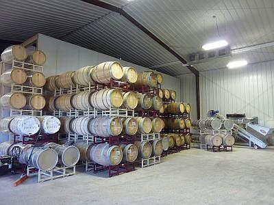 Hye Meadow - barrels