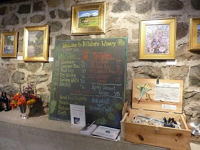 Billsboro - art and menu