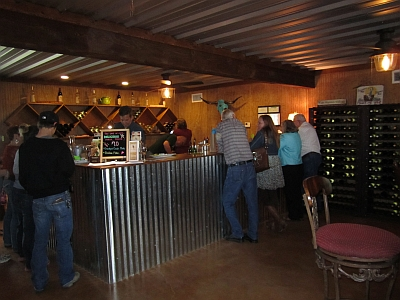 Whistling Duck Winery - inside
