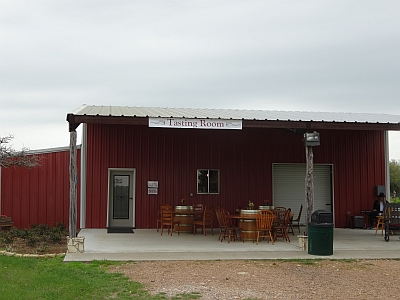 Whistling Duck Winery - outside