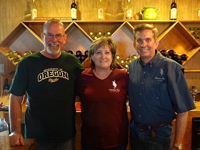Whistling Duck Winery - owners