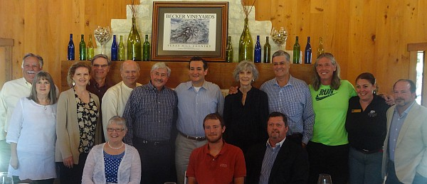 Group photo with Senator Ted Cruz