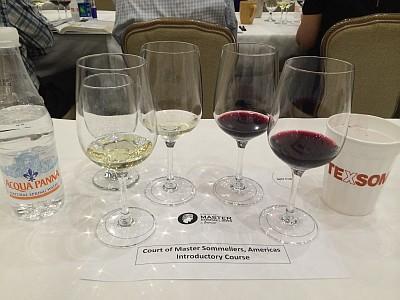 Blind tasting wine glasses