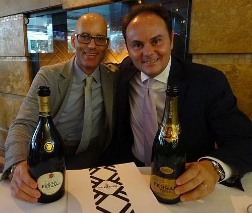 Export Manager Massimiliano Giacomini and Matteo Lunelli
