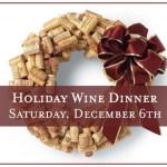 Eden Hill Holiday Wine Dinner