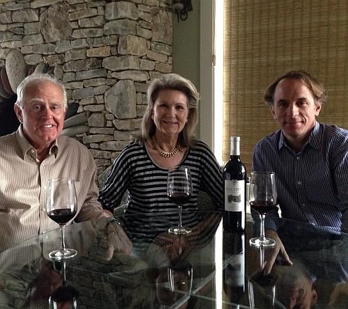 Ed & Susan Auler and Sergio Cuadra