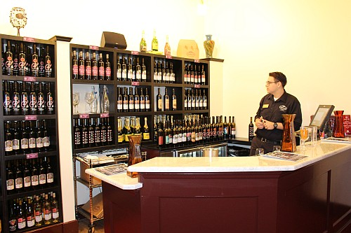 Messina Hof Grapevine - inside