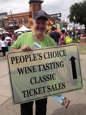 Mike Morris, GrapeFest Volunteer