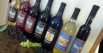 Tehuacana Creek Vineyards bottles