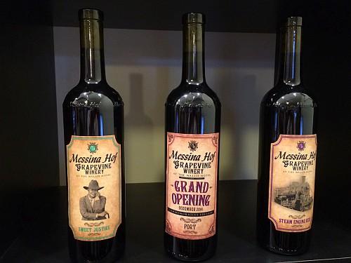 Messina Hof Grapevine wines