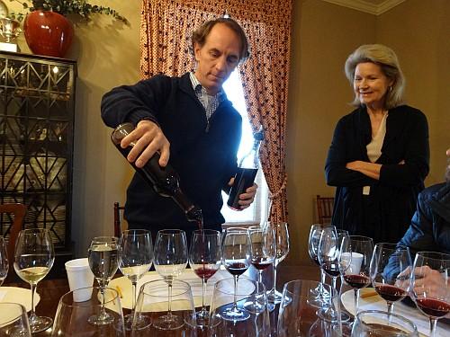 Sergio Cuadra and Susan Auler of Fall Creek Vineyards