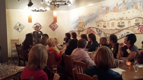 Women for WineSense meeting