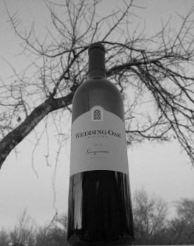 Wedding Oak Sangiovese bottle