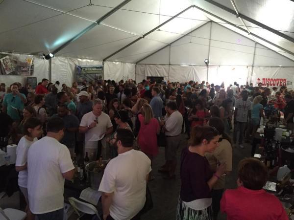 Discover Wine Festival crowd