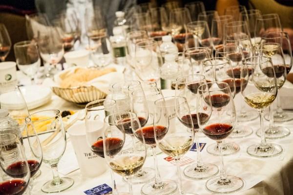 Iron Sommelier wine glasses