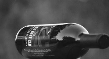 Texas Hills Vineyard Kick Butt Cab bottle side