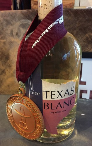 Nice Winery Blanc with gold medal