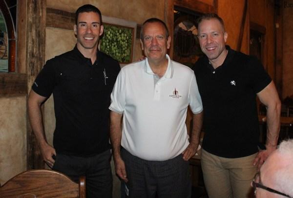Ryan, Chef Ross Burtwell, Ian