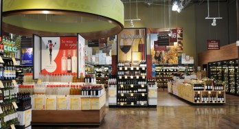 Total Wine - wine section