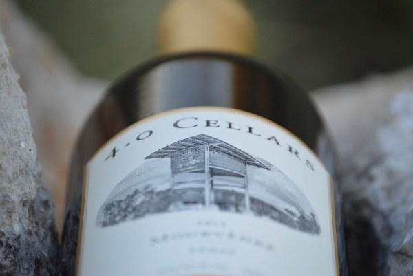 4.0 Cellars Mourvèdre bottle side