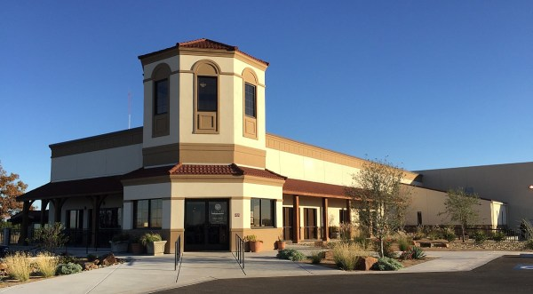 Llano Estacado Winery's new tasting room - outside