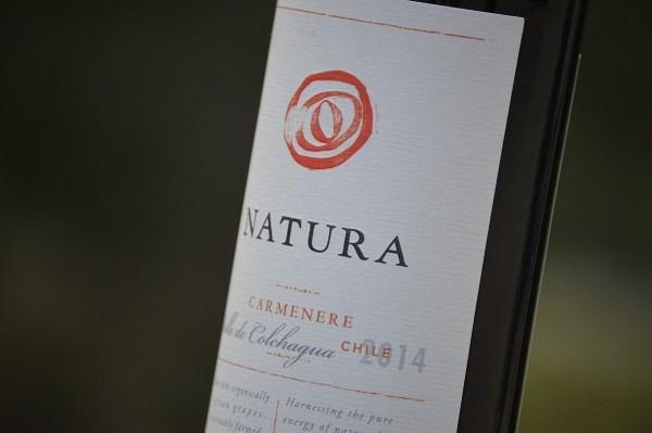Natura Carménère bottle