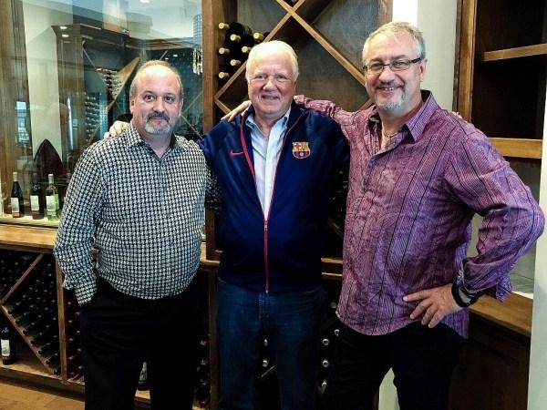Bill Burns, D. Russell Smith, Mike Igo