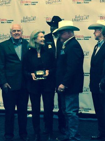 Ed & Susan Auler with Sid Miller