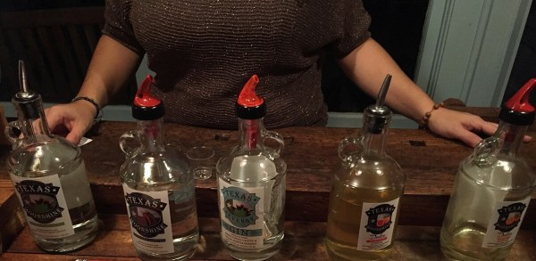 Hill Country Distillers lineup
