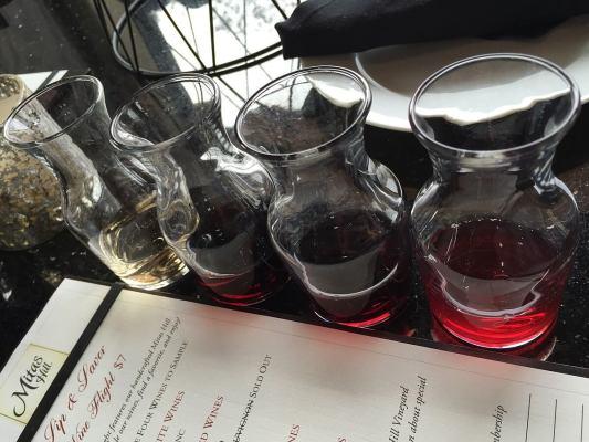 Mitas Hill Vineyard wine